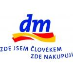 dm drogerie markt s.r.o. (pobočka Tábor, ul. U Čápova Dvora) – logo společnosti