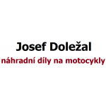 Doležal Josef, náhradní díly na motocykly – logo společnosti