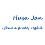 Husa Jan - regály – logo společnosti