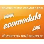 Ecomodula s.r.o. - nízkoenergetické stavby na klíč – logo společnosti