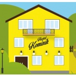 Hostel Kominík – logo společnosti