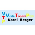 Berger Karel- voda - plyn - topení – logo společnosti
