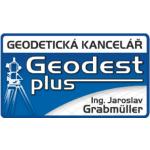 Grabmüller Jaroslav, Ing. - Geodest plus (pobočka Strakonice,Sídliště 1. máje) – logo společnosti