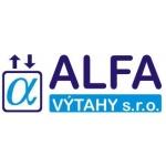 ALFA VÝTAHY, s.r.o. – logo společnosti