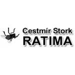 Štork Čestmír - RATIMA, hubení hlodavců - deratizace – logo společnosti