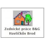 Bošacký František- ZEDNICKÉ PRÁCE B & G-HAVLÍČKŮV BROD – logo společnosti