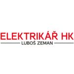 ELEKTRIKÁŘ HK - Luboš Zeman – logo společnosti