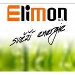 ELIMON a.s. Svěží energie – logo společnosti
