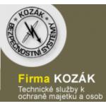 Kozák Jiří - bezpečnostní systémy – logo společnosti