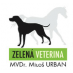 URBAN MILOŠ MVDr.- ZELENÁ VETERINA – logo společnosti