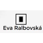Ralbovská Eva - sklenářské práce – logo společnosti