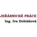 Ing. IVA DOBIÁŠOVÁ - JEŘÁBNICKÉ PRÁCE – logo společnosti
