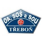 Obchodní akademie, Střední odborná škola a Střední odborné učiliště, Třeboň, Zámek - školní jídelna při OA, SOŠ A SOU – logo společnosti