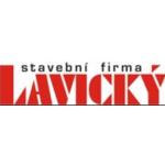LAVICKÝ - stavební firma – logo společnosti
