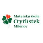 Mateřská škola Čtyřlístek Milenov, příspěvková organizace – logo společnosti