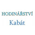 Kabát Josef - Hodinářství Kabát – logo společnosti
