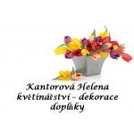 Kantorová Helena - květinářství - dekorace - doplňky – logo společnosti