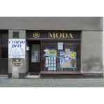 MODA, výrobní oděvní družstvo – logo společnosti