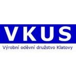 VKUS, výrobní oděvní družstvo Klatovy – logo společnosti
