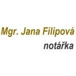 Filipová Jana Mgr. - notářka – logo společnosti