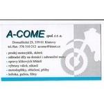 A - COME, spol. s r.o. – logo společnosti