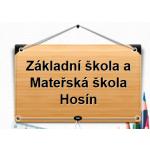 Základní škola a Mateřská škola Hosín – logo společnosti