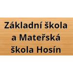 Základní škola a Mateřská škola Hosín - mateřská škola – logo společnosti