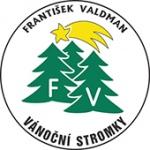 Valdman František - vánoční stromky – logo společnosti