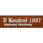 UBYTOVÁNÍ V KOVÁRNĚ – logo společnosti