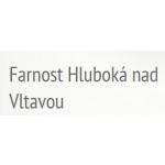 Římskokatolická farnost Hluboká nad Vltavou – logo společnosti