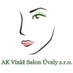 AK vizáž Salon Úvaly s.r.o. – logo společnosti