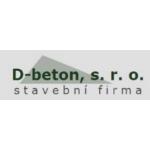 D-beton s.r.o., stavební firma – logo společnosti