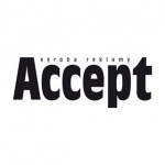 ACCEPT - výroba reklamy – logo společnosti