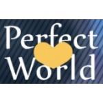 Perfect World s.r.o. - jazykovka se srdcem – logo společnosti