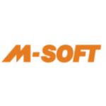 M - SOFT, spol. s r.o. - servis výpočetní techniky – logo společnosti