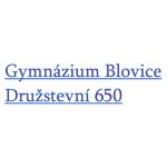 Gymnázium, Blovice – logo společnosti