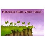 MATEŘSKÁ ŠKOLA VELKÉ POŘÍČÍ – logo společnosti