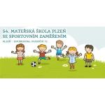 54. mateřská škola Plzeň, Staniční 72, příspěvková organizace – logo společnosti
