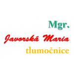 JAVORSKÁ Maria Mgr.- TLUMOČNICE RUMUNŠTINY – logo společnosti