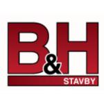 Hodina Libor- B H STAVBY – logo společnosti