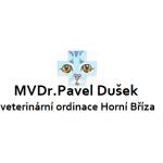 Dušek Pavel, MVDr. - veterinární ordinace Horní Bříza – logo společnosti