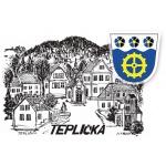 Obec Teplička – logo společnosti