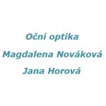 OČNÍ OPTIKA PLZEŇ - MAGDALENA NOVÁKOVÁ A JANA HOROVÁ – logo společnosti