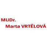 MUDr. Marta Vrtělová - dětská lékařka, pediatr, endokrinolog – logo společnosti