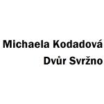 Kodadová Michaela- dvůr Svržno – logo společnosti