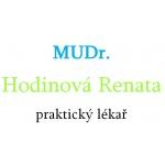 MUDr. Renáta Hodinová - praktický lékař pro dospělé – logo společnosti