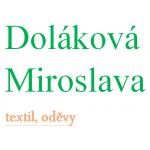 Doláková Miroslava - textil, oděvy – logo společnosti