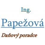 Ing. Marta Papežová- Daňový poradce – logo společnosti
