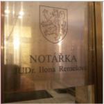 JUDr. Ilona Remešová - NOTÁŘKA – logo společnosti
