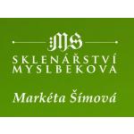Šímová Markéta- Sklenářství Myslbekova – logo společnosti